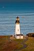 Yaquina Head Lighthouse, Oregon Coast from Salil Hill