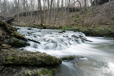 Birch Creek at Yellow Springs, Ohio