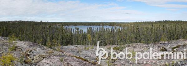 Prosperous Lake Trail, along the Ingrham Trail, Northwest Territories, Canada