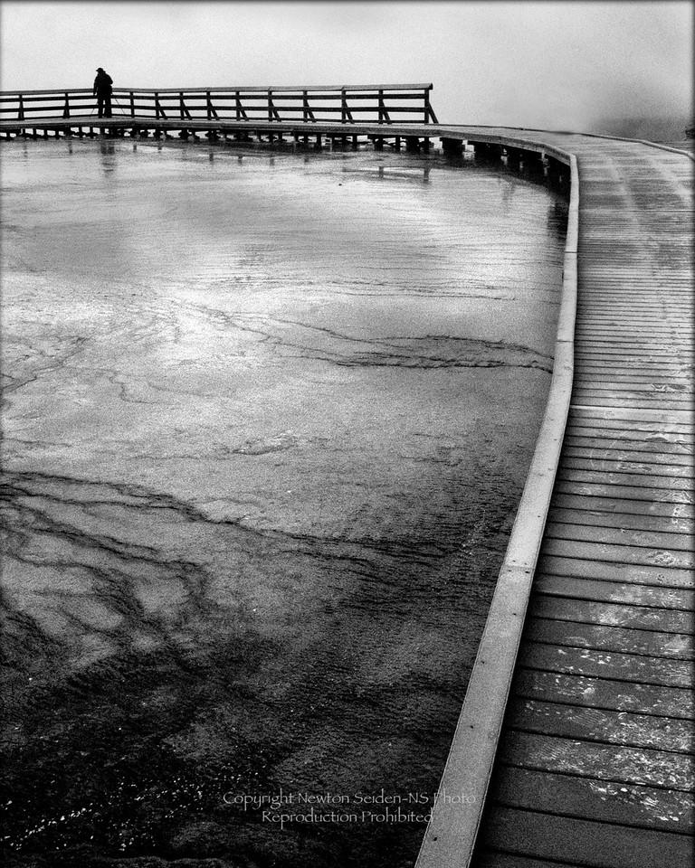 Midbasin Boardwalk<br /> Yellowstone National Park