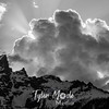 29  G Tetons and Clouds BW