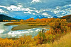 Oxbow Bend on the Snake River in Grand Teton