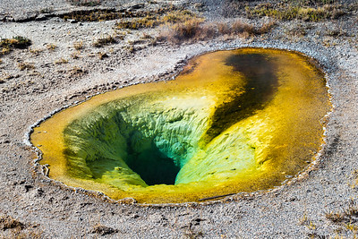 Belgian Pool in Yellowstone National Park