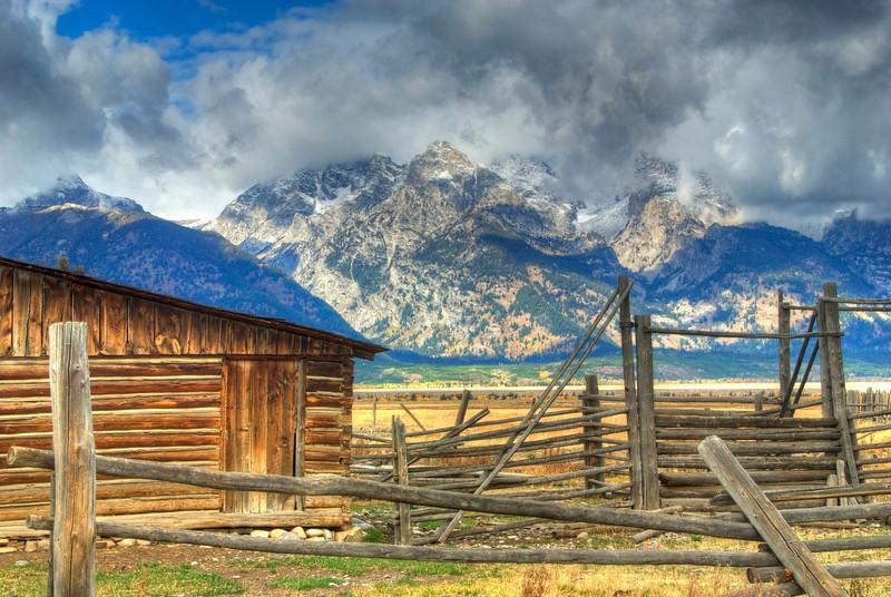 Old Barn in Grand Teton National Park