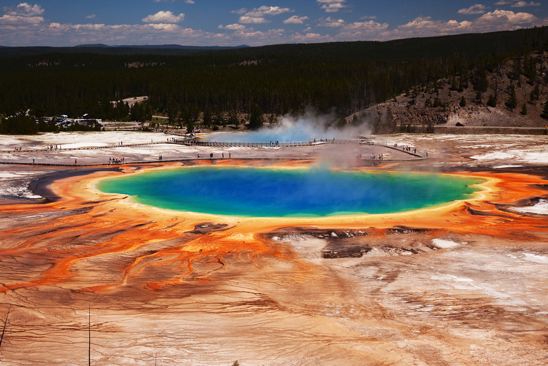 Grand Prismatic Spring, Midway Geyser Basin