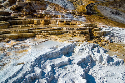 """Main Terrace""Mammoth Hot Springs"