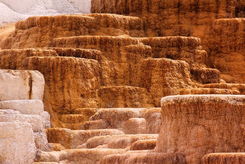 Minerva Spring & Terrace, Mammoth Hot Springs