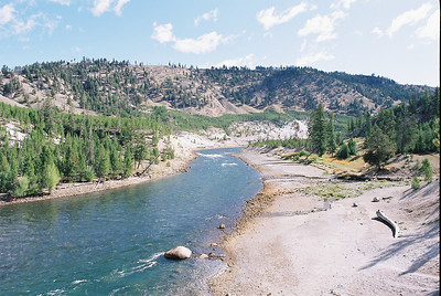 Yellowstone River.  September 2009.