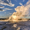 Lower Geyser Basin Sunset - 2