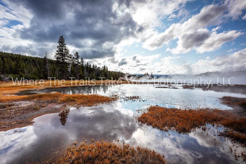 Hot Lake Landscape
