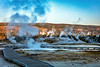 69. Steamy Morning Along The Boardwalk - Upper Geyser Basin
