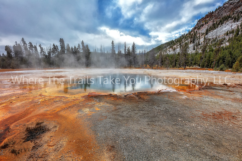 Emerald Pool At Black Sand Basin 2