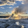 Lower Geyser Basin Sunset - 1
