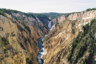 Artist View.  Grand Canyon of the Yellowstone River.  September 2009.