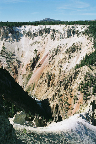 Grand Canyon of the Yellowstone River.  September 2009.