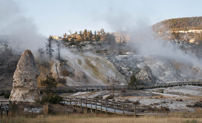 Mamoth hot springs, Yellowstone Park