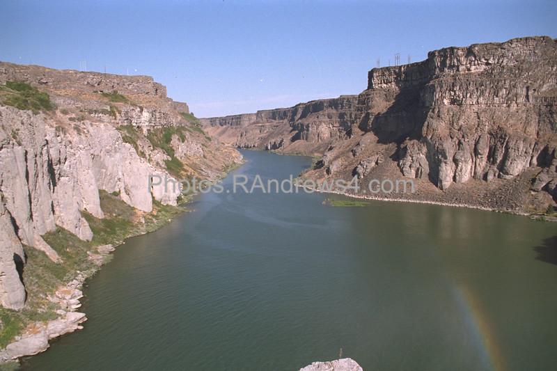 Snake River Canyon below falls 1994