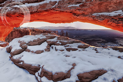 Mesa Arch at Winter Solstice