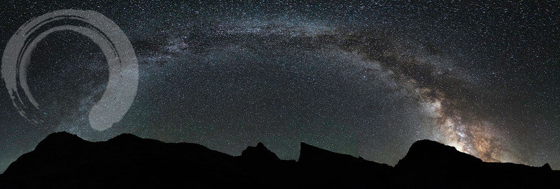 Milky Way from Deep Lake