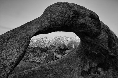 Eastern Sierras in the Mobius