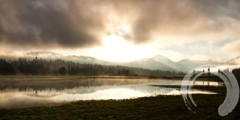 Tuolumne Meadow at dawn