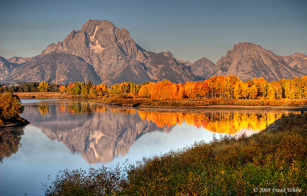 Tetons Sunrise at Oxbow bend