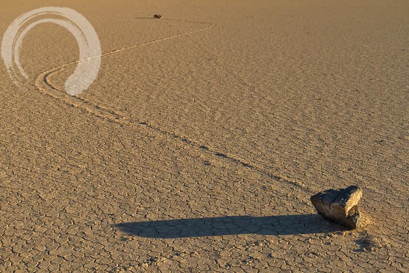 Moving Rocks, Death Valley