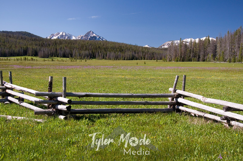 9  Fence and Mountains
