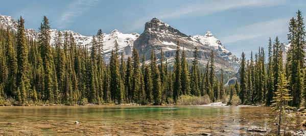Lower Lake O'Hara, Yoho National Park, British Columbia