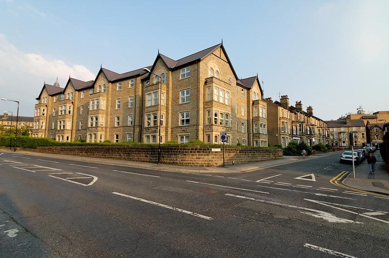 Building across from Asda, Harrogate