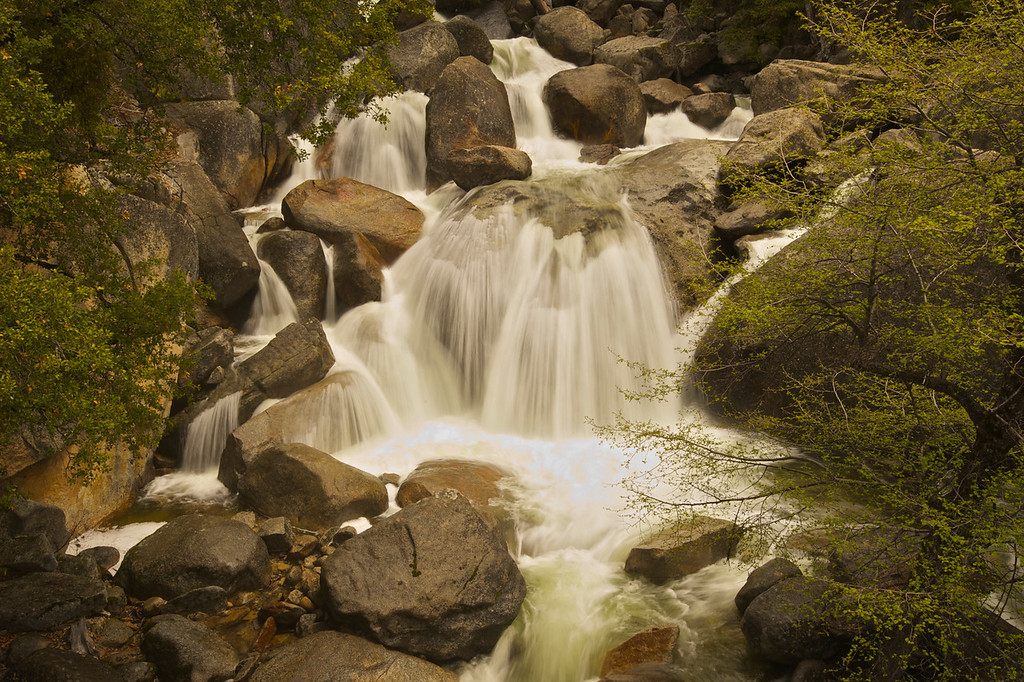 Highway 120 Falls - Spring '10