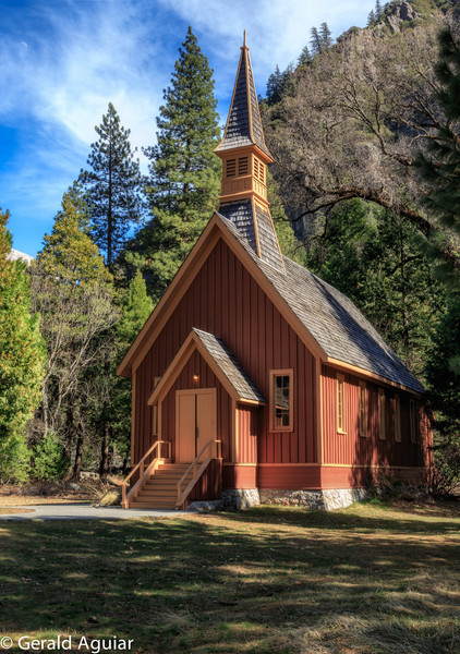 Catholic Chapel In Yosemite Valley