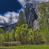 Clouds Swirling Above El Capitan