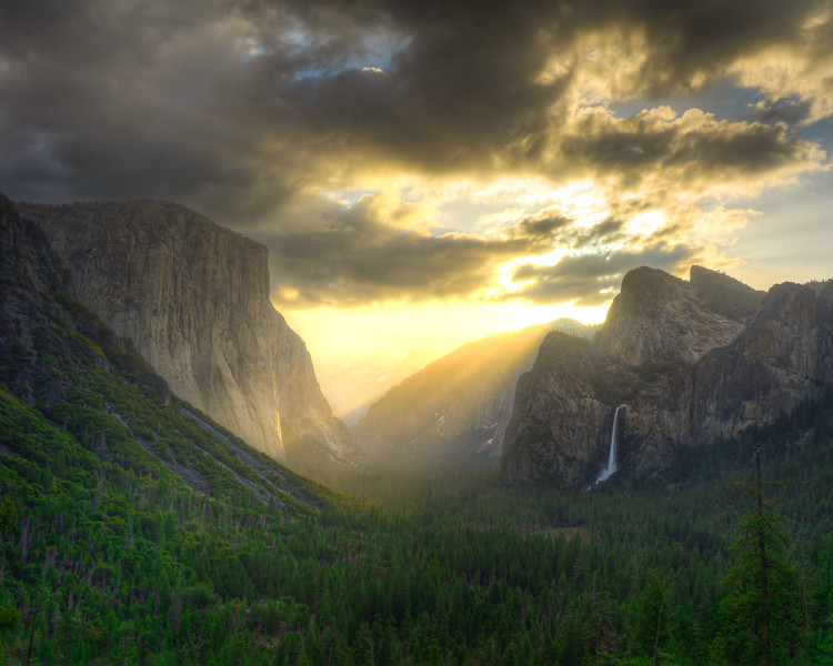 Yosemite Tunnel View Sunrise-2 (1 of 1)