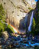 Yosemite Lower Falls Rainbow (1 of 1)