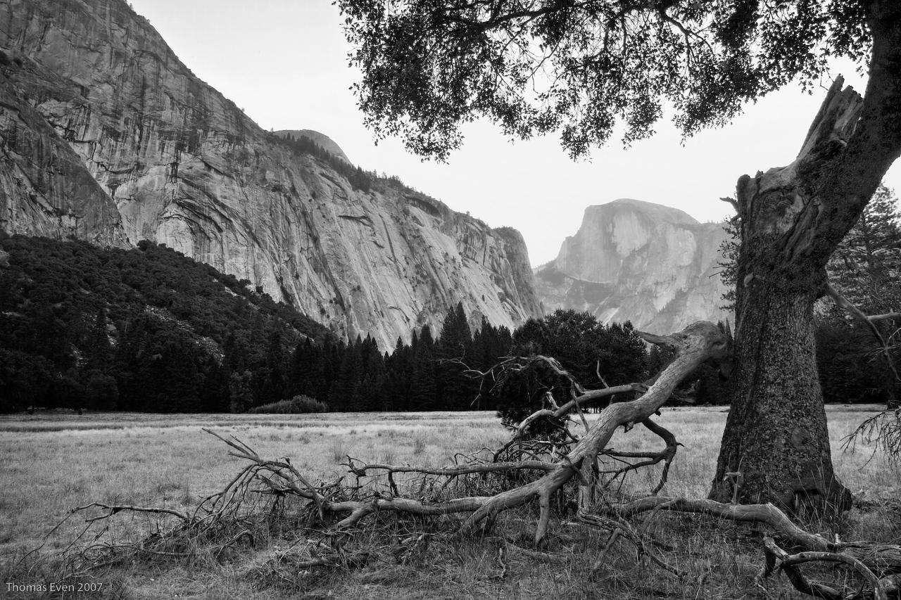 Yosemite_20070825_6502_HDR_B&W