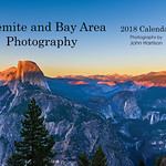 Yosemite Bay Area 2018 Front Page of the Calendar