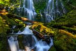 """Illuminated Falls"""