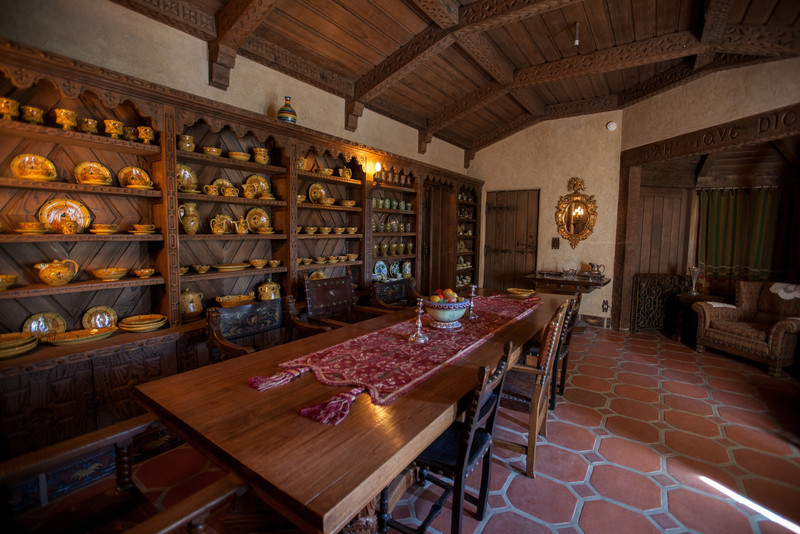 Scotty's Castle - dining room