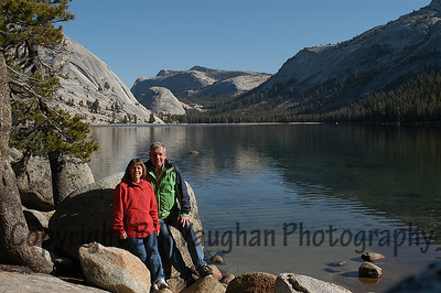 My wife and I.  Tioga Pass, Yosemite.