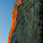 """Last Light on El Capitan"" Yosemite National Park"