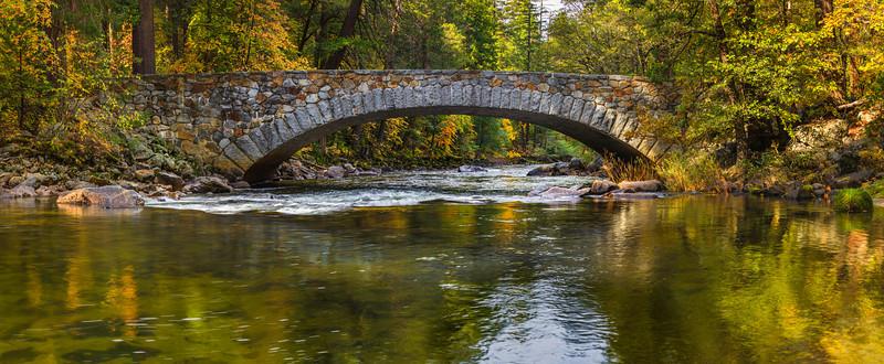 Pohono Bridge in Yosemite
