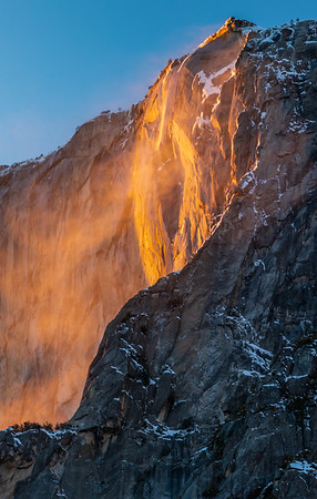 Firefall at Horsetail Falls