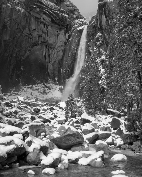 Lower Yosemite Falls February, 2011