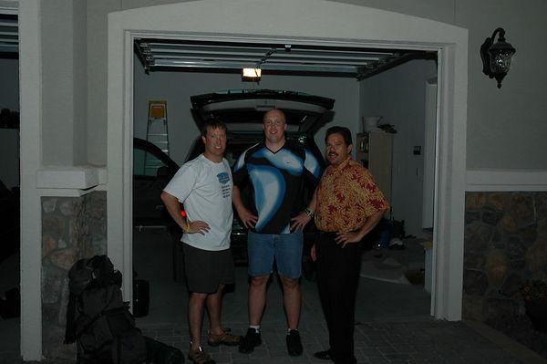 Tres Amigo loading up for Yosemite