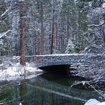Winter Scene in Yosemite Valley