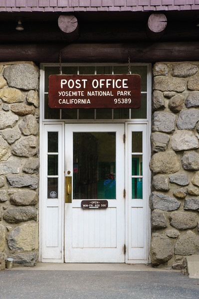 Post Office in Yosemite National Park
