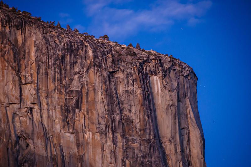 the Nose of El Capitan in Yosemite National Park