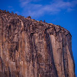 the Nose of El Capitan in Yosemite National Park