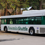 Yosemite Shuttle Bus in Yosemite National Park